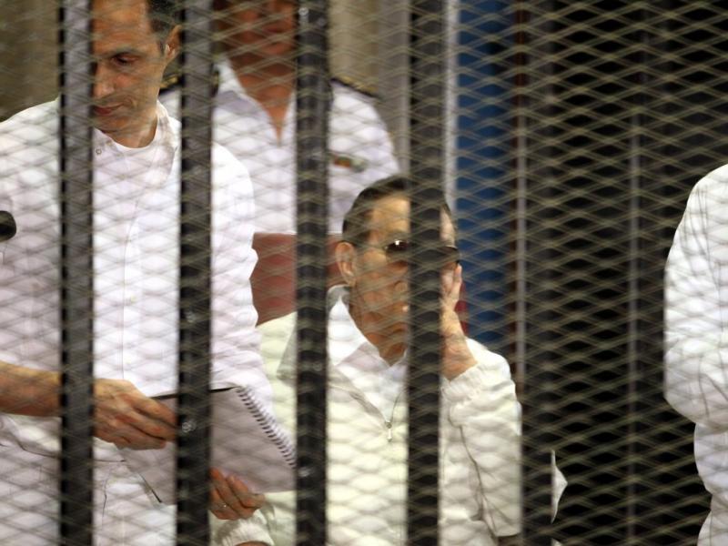Julgamento de Mubarak (EPA)