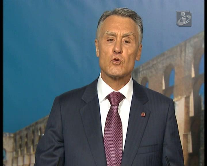 Portugal está «a fazer a sua parte» para ultrapassar a crise, diz Cavaco