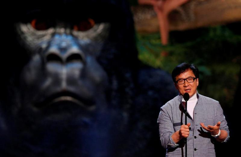 Jackie Chan - Prémios Guys Choice Foto: Reuters