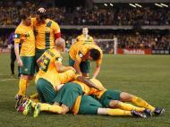 Austrália festeja goleada (Reuters)