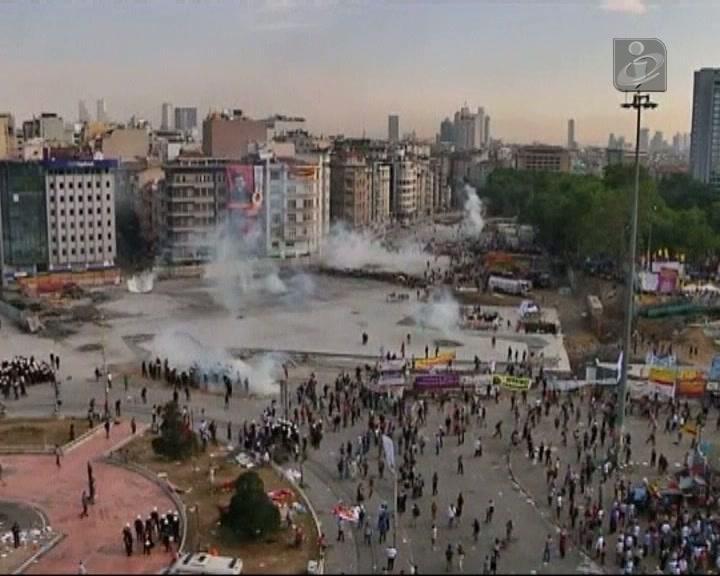 Confrontos na Turquia