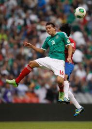 Herrera em ação pela seleção mexicana