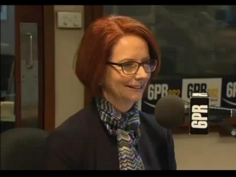 Perguntou à primeira-ministra australiana se o marido era gay