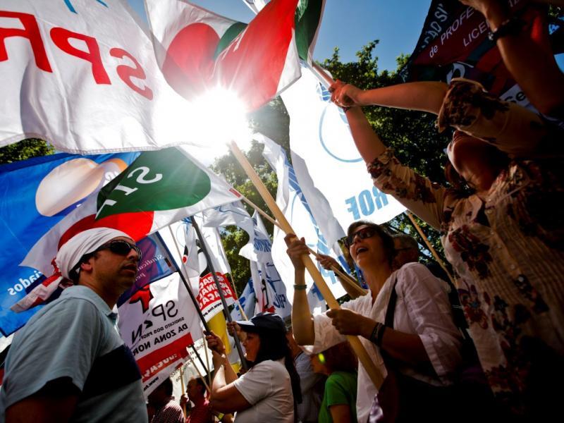 Manifestação de professores em Lisboa, 15 de junho de 2013 (LUSA/José Sena Goulão)