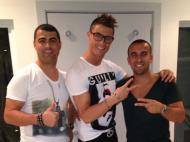 Jogadores de férias: Cristiano Ronaldo (Real Madrid)