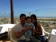 Jogadores de férias: Messi
