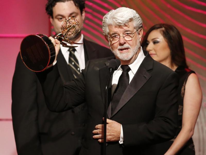George Lucas vence o seu primeiro Emmy (Reuters)