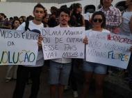 Manifestantes invadem o Congresso brasileiro [Foto: Twitter]