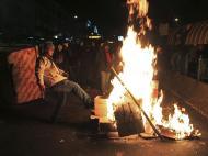 Manifestantes invadem o Congresso brasileiro (Reuters)