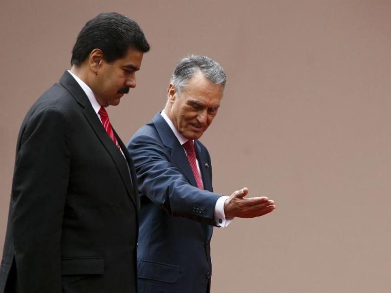Nicolás Maduro de visita a Portugal (ANDRE KOSTERS / LUSA)