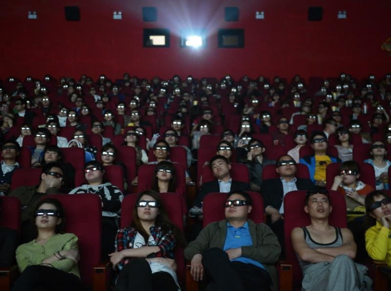 Cinema 3D na China (Reuters)