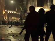 Mais uma noite de violência em São Paulo (REUTERS/Alex Almeida )