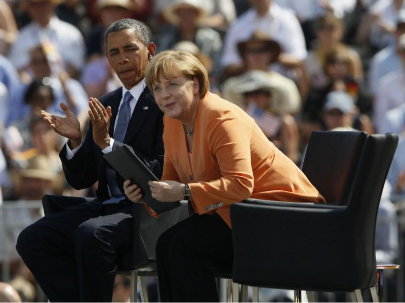 Obama em Berlim (Reuters)
