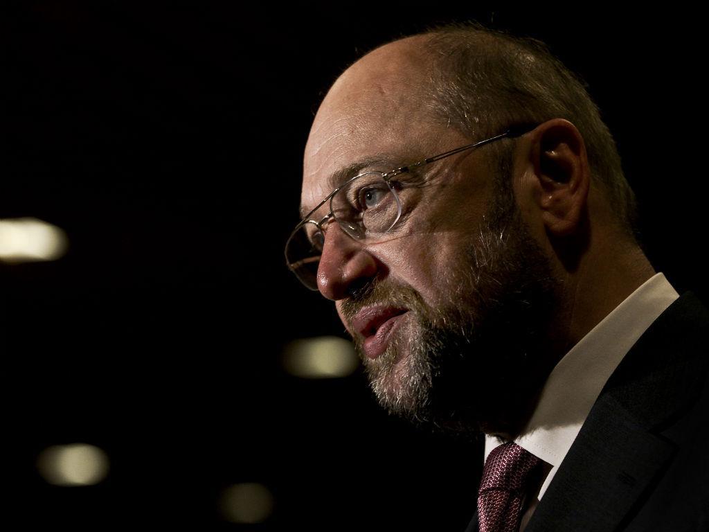Martin Schulz em Lisboa (LUSA)