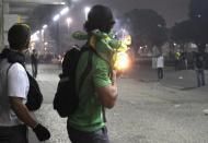 Manifestação no Rio de Janeiro [Reuters]