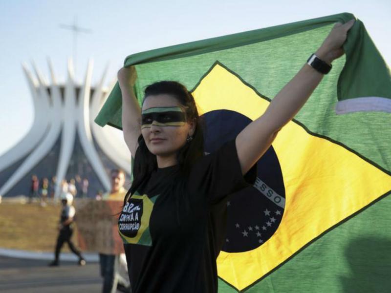 Brasil: os rostos da revolução (REUTERS)