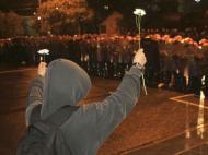 Brasil: revolução também se faz com flores (REUTERS)