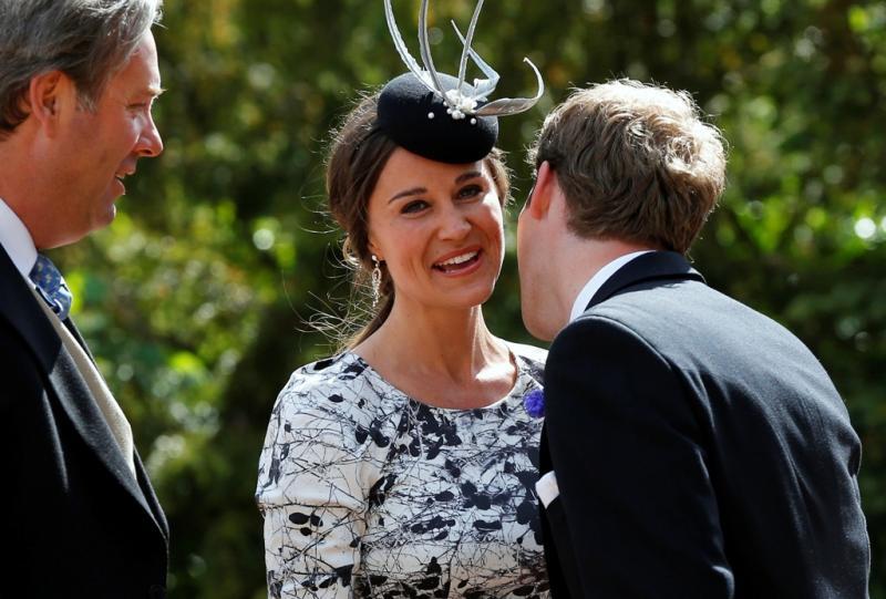 Pippa Middleton - Casamento de Thomas van Straubenzee e Melissa Percy Foto: Reuters