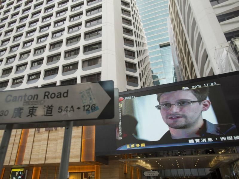 Edward Snowden (EPA)