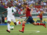 Espanha vs Nigeria (EPA/OLIVER WEIKEN)