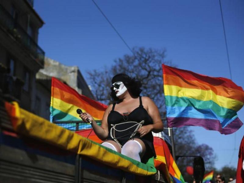 FaraDiva, uma drag queen portuguesa  (REUTERS/Rafael Marchante )
