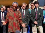 Mandela: em 1995, a África do Sul recebe o Mundial de râguebi
