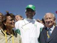Mandela: em Sydney 2000, com Samaranch