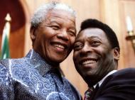 Mandela: com Pelé