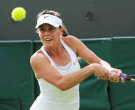 Michelle de Brito - Wimbledon - Londres 26 junho 2013 Foto: Lusa