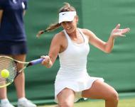 Michelle Larcher de Brito - Wimbledon - Londres 26 junho 2013 Foto: Lusa