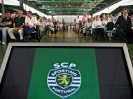 Assembleia-geral extraordinária do Sporting (lusa)