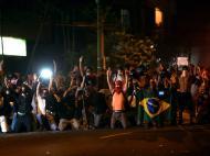 Brasil-Espanha: confrontos entre polícia e adeptos