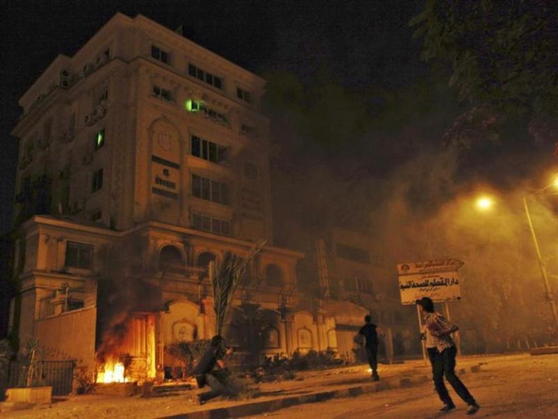 Ataque à sede da Irmandade Muçulmana no Cairo [Reuters]