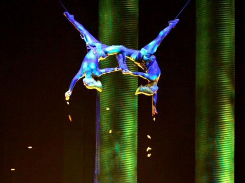 Artista do Cirque du Soleil