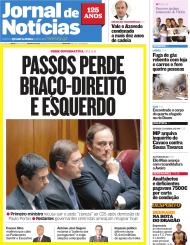 Quiosque, 3 de julho: Jornal de Notícias