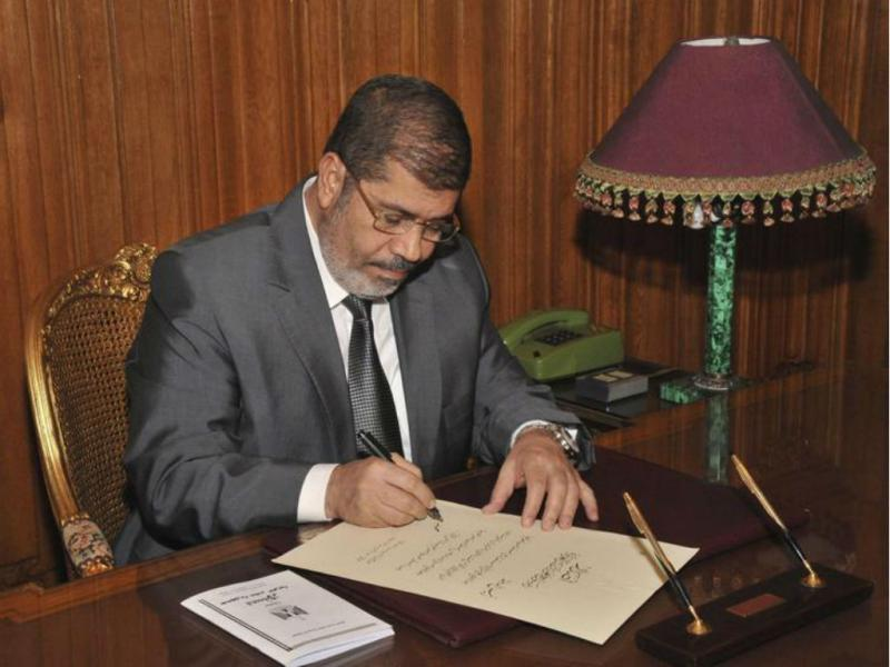 Mohamed Morsi (EUTERS/Egyptian Presidency)