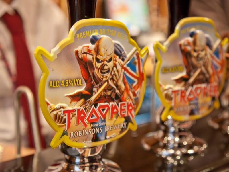 «Trooper», a cerveja dos Iron Maiden