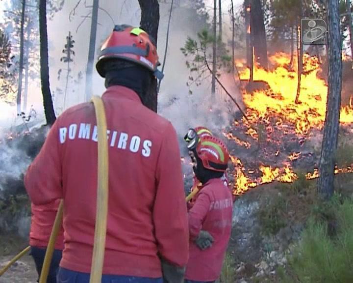 Incêndio em Nelas