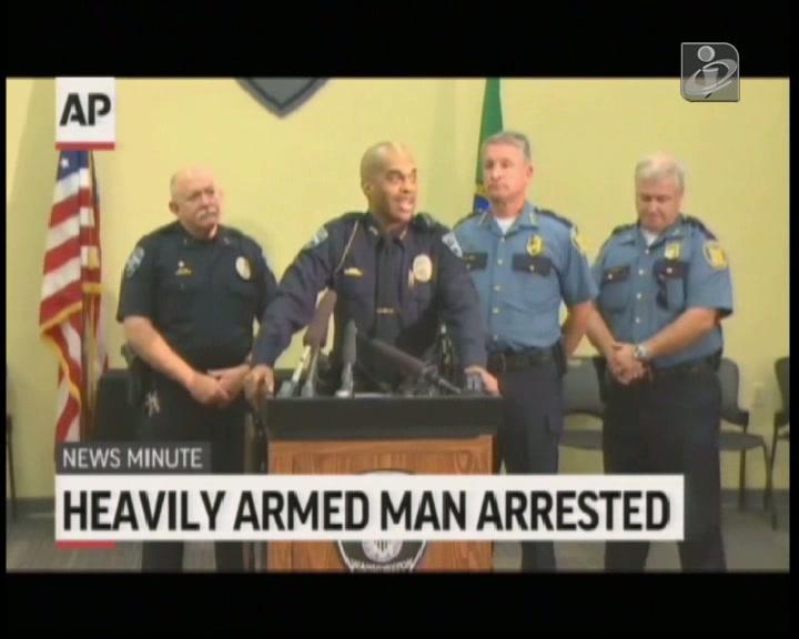 EUA: homem detido com carrinha cheia de armas e explosivos