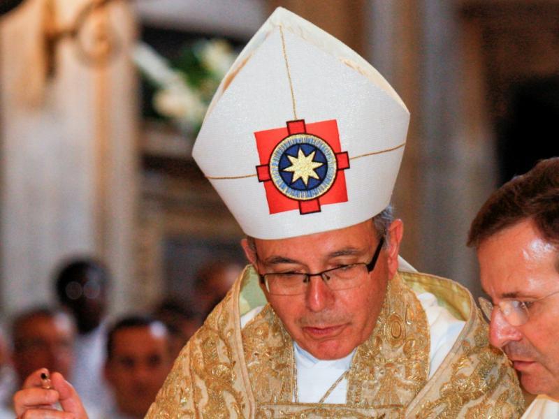 Manuel Clemente tomou posse como patriarca de Lisboa [LUSA]