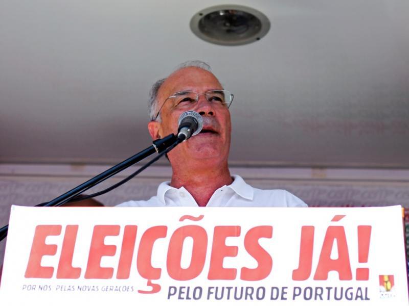 Manifestação em Belém [LUSA]