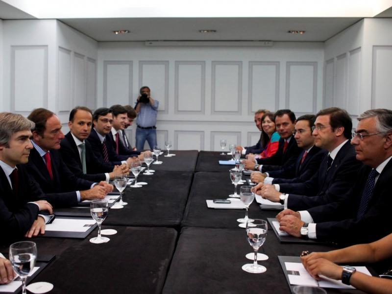 Reunião PSD-CDS