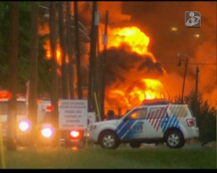 Canadá: vários desaparecidos após explosões num comboio