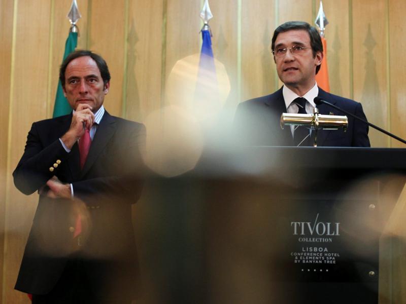 Reunião PSD-CDS [LUSA]