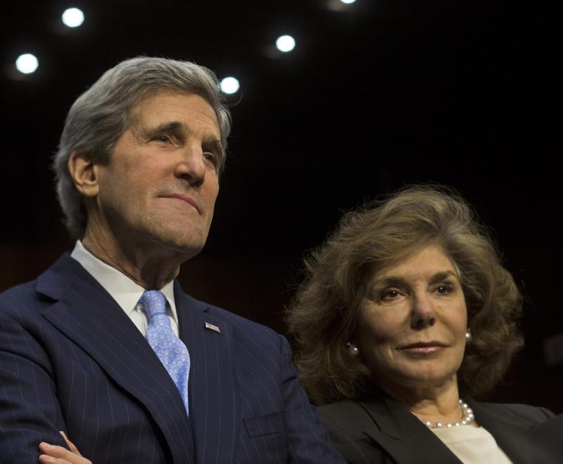 John Kerry e Teresa Heinz Kerry Foto: Lusa