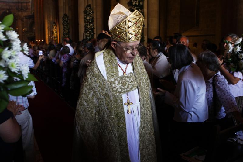 Manuel Clemente toma posse como novo Patriarca de Lisboa no Mosteiro dos Jerónimos 6 de julho 2013 Foto: Lusa