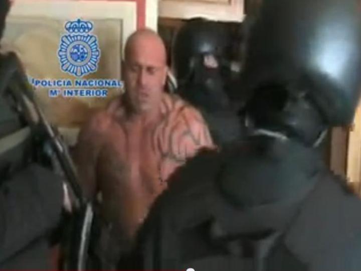 Polícia espanhola detém fugitivo britânico