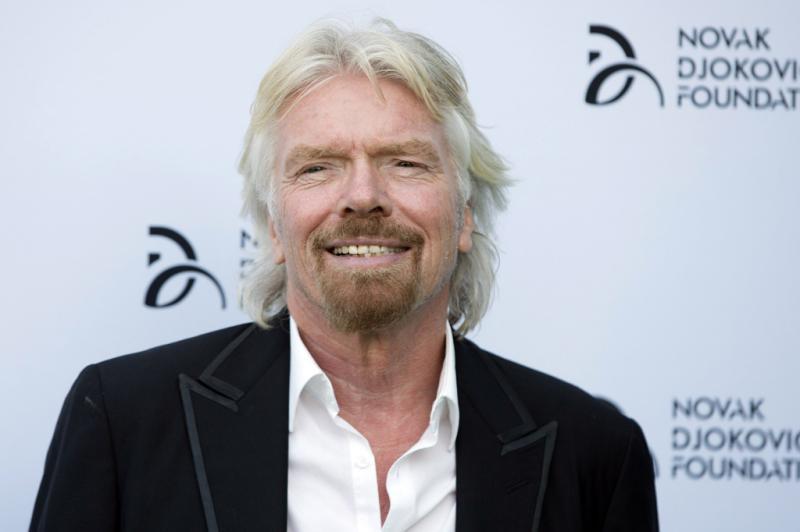 Richard Branson - Gala de Angariação de fundos da Fundação Novak Djokovic Foto: Reuters