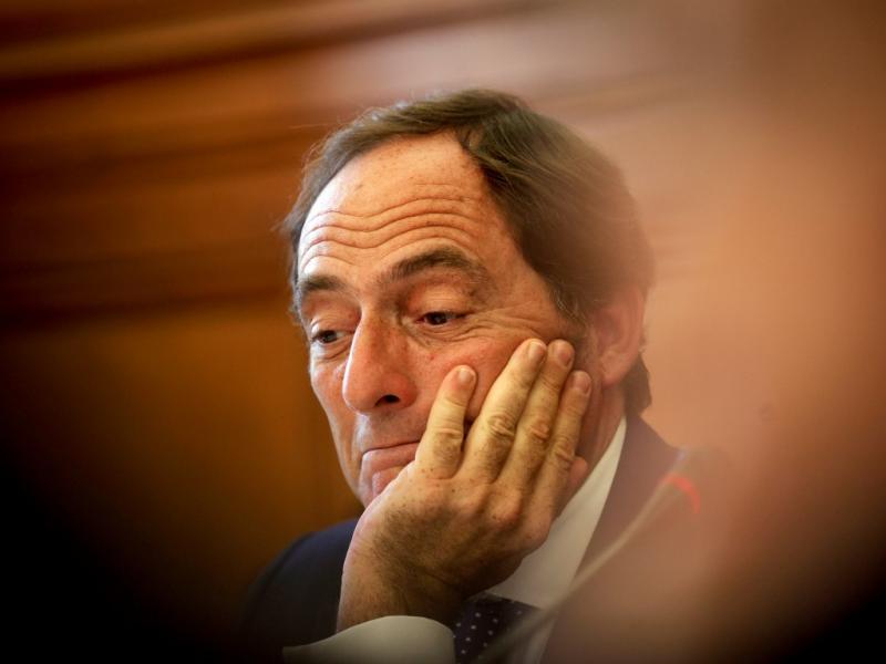 Paulo Portas na Comissão dos Negócios Estrangeiros (LUSA)