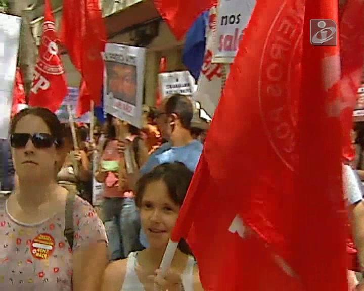 Protesto de enfermeiros